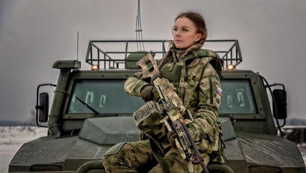 Les plus belles représentantes de la Garde Nationale russe - Sputnik France