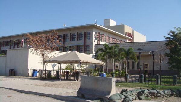 Ambassade des Etats-Unis à Port-au-Prince, en Haïti - Sputnik France