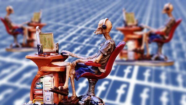 Facebook, social media - Sputnik France