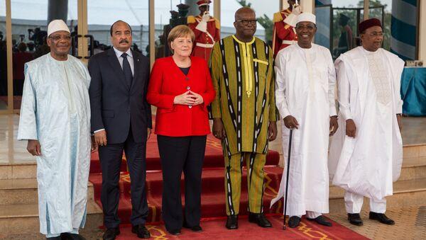 Angela Merkel en visite en Afrique - Sputnik France