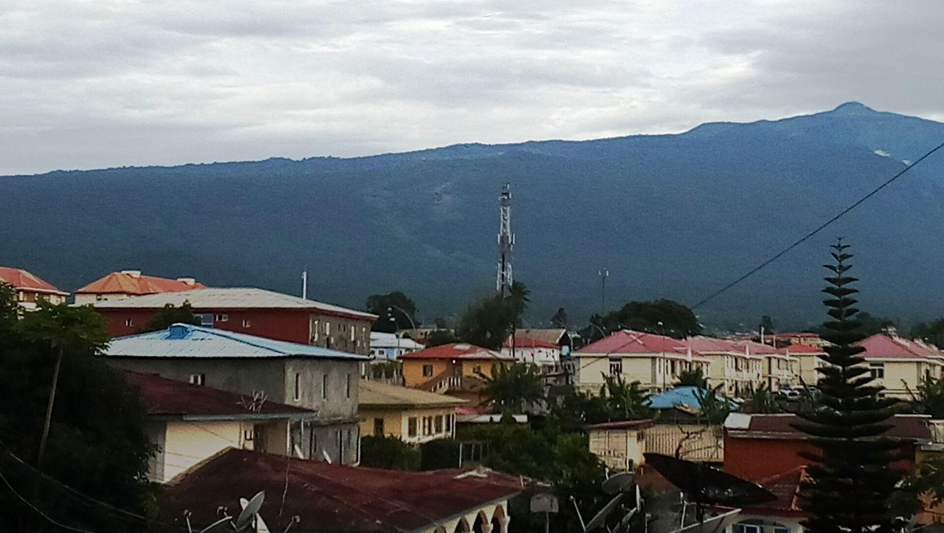 Une vue de Malabo, sur l'île de Bioko, ville portuaire et capitale de la Guinée équatoriale - Sputnik France, 1920, 29.07.2021