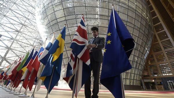 Le bâtiment Europe, siège du Conseil de l'UE, à Bruxelles - Sputnik France