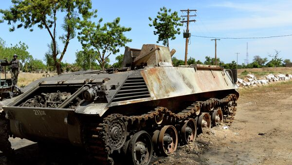 Boko Haram's tank - Sputnik France
