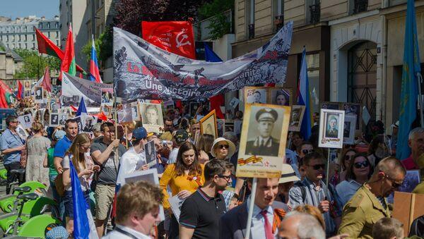 Marche des immortels à Paris - Sputnik France