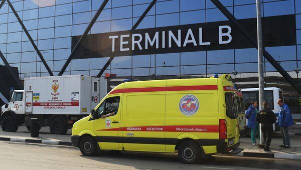 Ситуация в аэропорту Шереметьево - Sputnik France