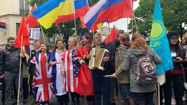 La Marche des immortels, le 8 mai 2019  - Sputnik France
