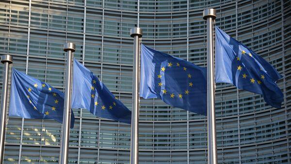 Флаги ЕС в Брюсселе - Sputnik France