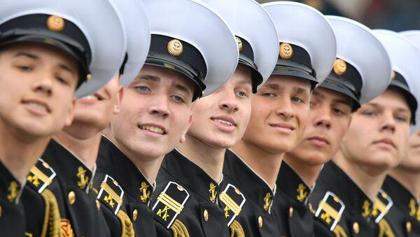 Défilé militaire sur la place Rouge à Moscou pour fêter les 74 ans de la Victoire  - Sputnik France