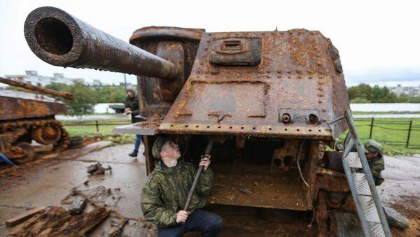 Un M3 Lee restauré à Mourmansk - Sputnik France