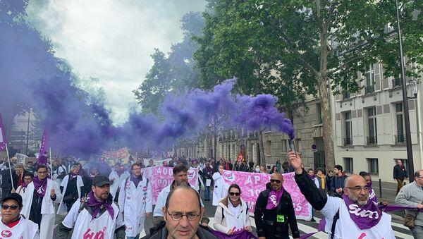 Manifestation syndicale, le 9 mai - Sputnik France