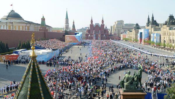 Régiment des immortels à Moscou (9 mai 2019) - Sputnik France