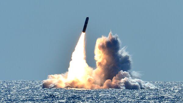 Tir d'un missile balistique américain Trident, photo d'archives - Sputnik France