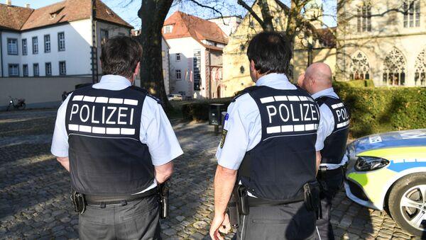 Polizei in Baden-Württemberg (Symbolbild) - Sputnik France
