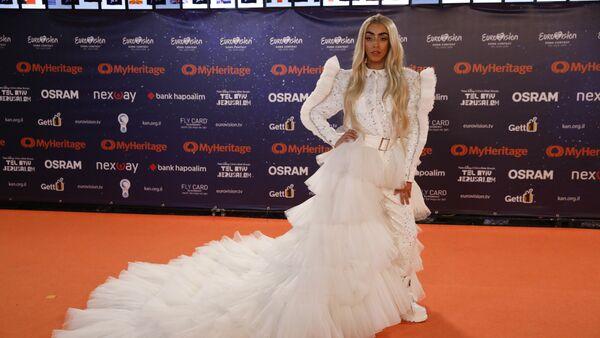 Bilal Hassani, le 12 mai 2019 lors de l'Eurovision - Sputnik France