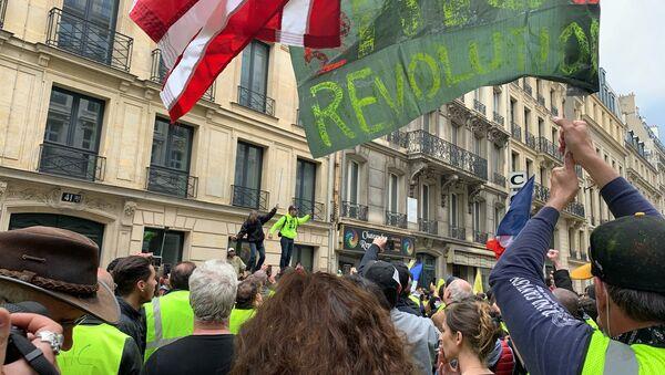 Acte 27 des Gilets jaunes à Paris - Sputnik France