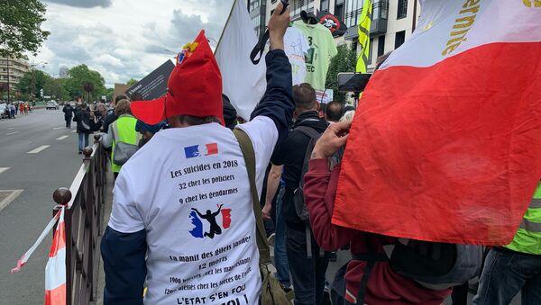 Une manifestations des Gilets jaunes - Sputnik France