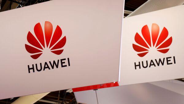 Логотип компании Huawei  - Sputnik France
