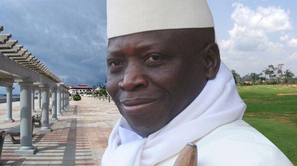 Yahya Jammeh au bord de la Wele à Mongomo - Sputnik France