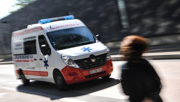 une ambulance, image d'illustration - Sputnik France