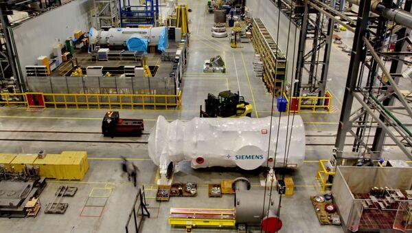 Siemens Gas Turbine Technologies à Saint-Pétersbourg - Sputnik France