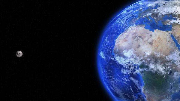 Земля и Луна - Sputnik France