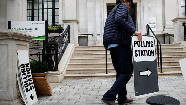 Préparation aux élections européennes à Londres, le 23 mai 2019 - Sputnik France