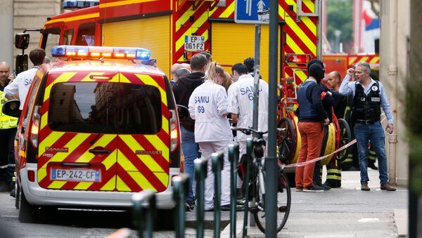 Les médecins sur les lieux de l'explosion à Lyon (24 mai 2019) - Sputnik France