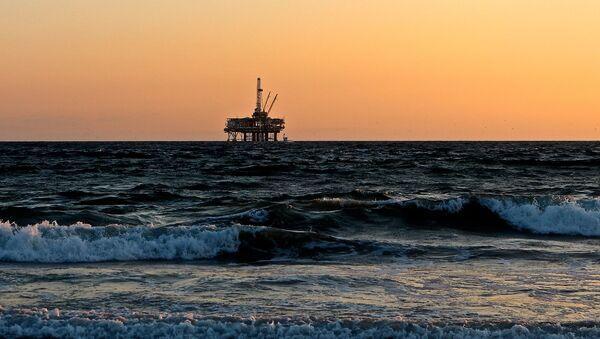 plateforme de production de gaz offshore - Sputnik France