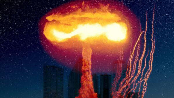 Explosión nuclear (imagen referencial) - Sputnik France