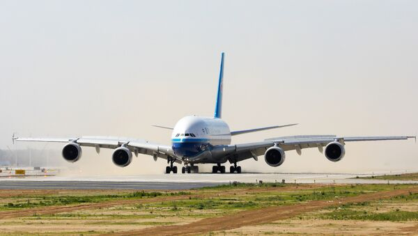 China Southern Airlines Airbus A380, image d'illustration - Sputnik France