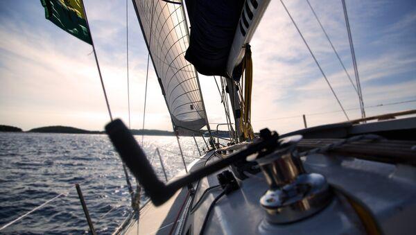 Un yacht (image d'illustration) - Sputnik France