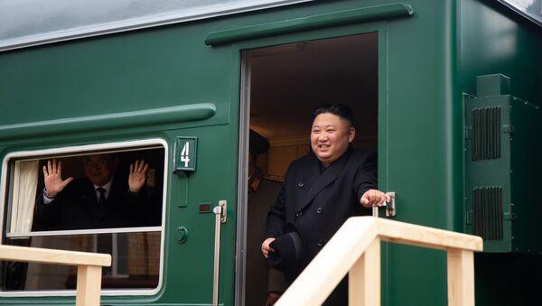 Kim Jong-un à Vladivostok - Sputnik France