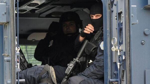 Припадници специјалне јединице косовске полиције на северу Косова и Метохије - Sputnik France