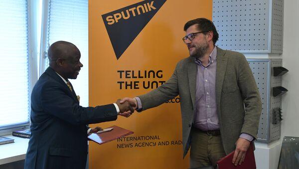 Sputnik a conclu un accord de coopération avec la Radio-Télévision nationale congolaise - Sputnik France