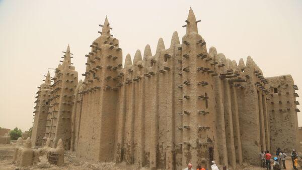 La Mosquée de Djenné, au Mali, le 28 avril 2019.   - Sputnik France