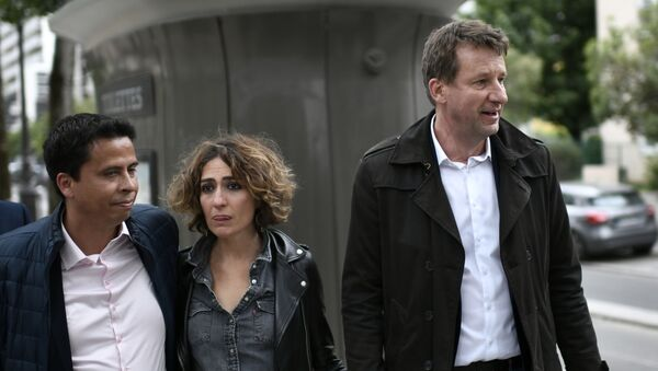 Isabelle Saporta et Yannick Jadot - Sputnik France