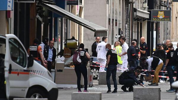 La police à Lyon après l'attentat à l'explosif du 24 mai 2019 - Sputnik France