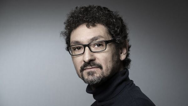 French writer David Foenkinos poses during a photo session on January 30, 2019 in Paris. (Photo by JOEL SAGET / AFP) - Sputnik France