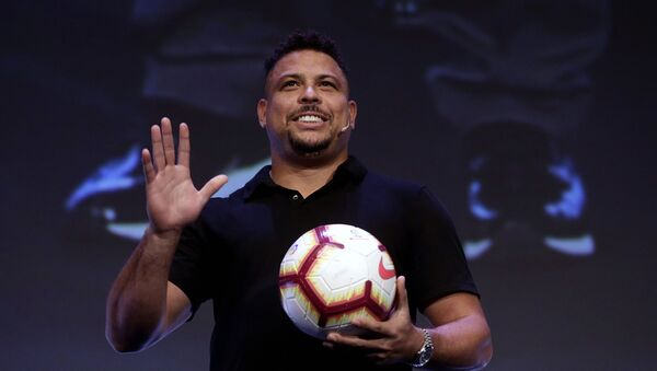 Ronaldo Luis Nazario  - Sputnik France