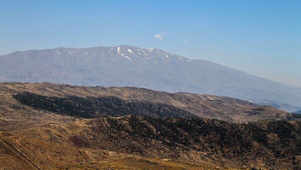 Mont Hermon vu depuis le Liban - Sputnik France