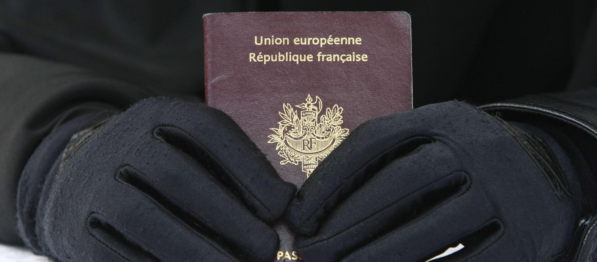 Passeport français - Sputnik France, 1920, 17.02.2021