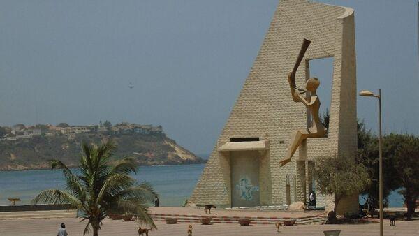 Monument de la Porte du Troisième Millénaire, à Dakar - Sputnik France