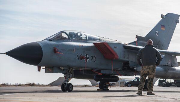 Un Tornado allemand à la base d'Azraq en Jordanie - Sputnik France