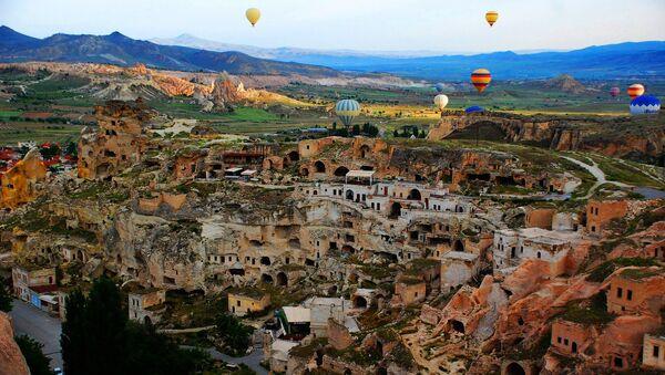 Вид Каппадокии в Турции - Sputnik France