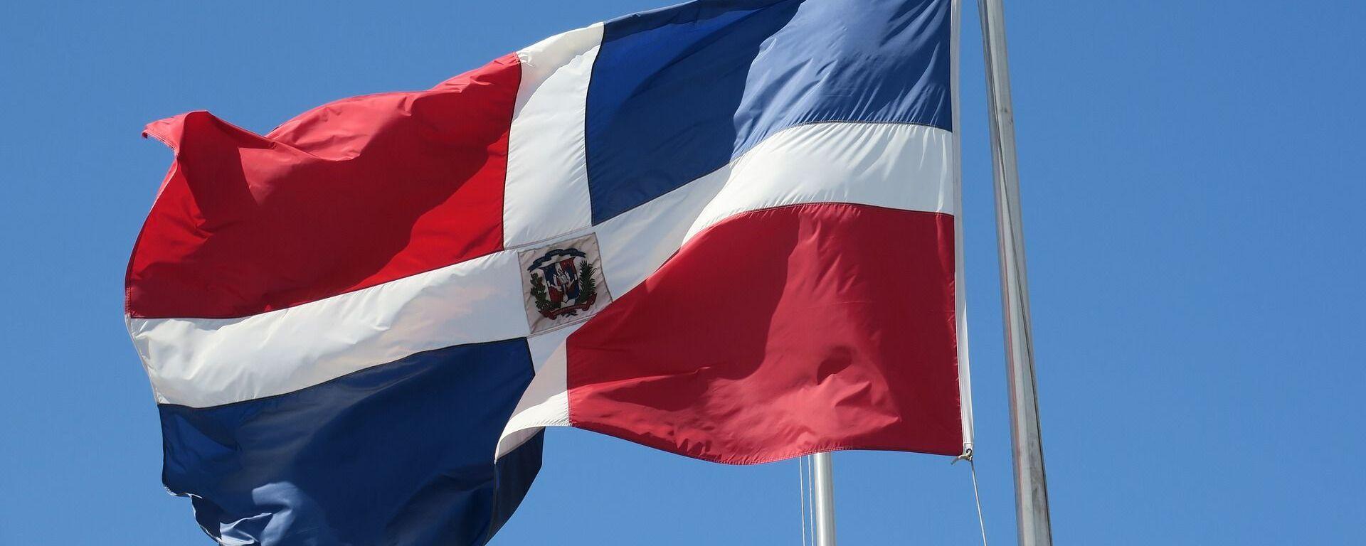 Le drapeau de la République dominicaine - Sputnik France, 1920, 04.03.2021
