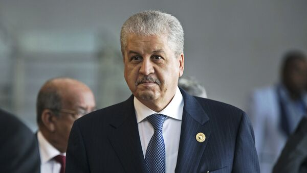 l'ancien Premier ministre algérien Abdelmalek Sellal - Sputnik France