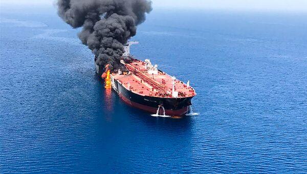 incident en mer d'Oman, 13 juin - Sputnik France