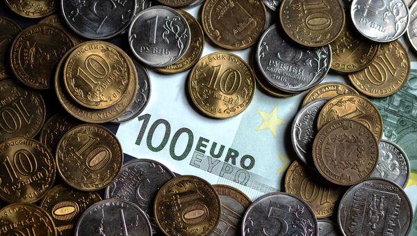 Des roubles et des euros - Sputnik France