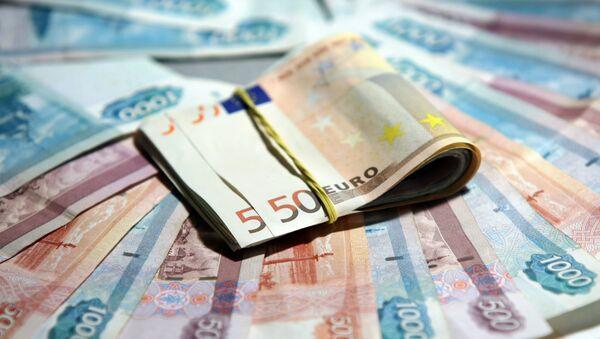 Euros et roubles - Sputnik France