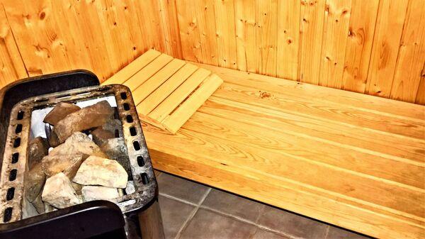 dans un sauna - Sputnik France